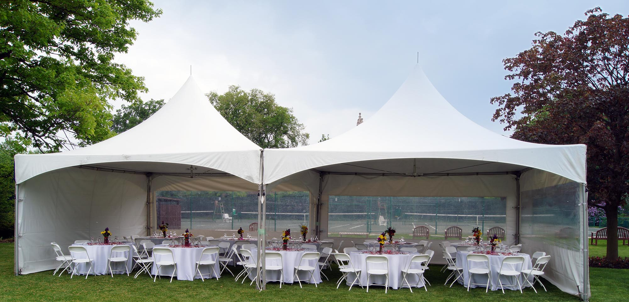 High Peak Frame Tents (Hard Surface or Grass) & High Peak Tent Rentals in Chicago IL Oak Park IL River Forest ...