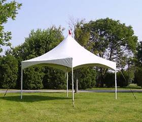 15x15 high peak rental wedding tents
