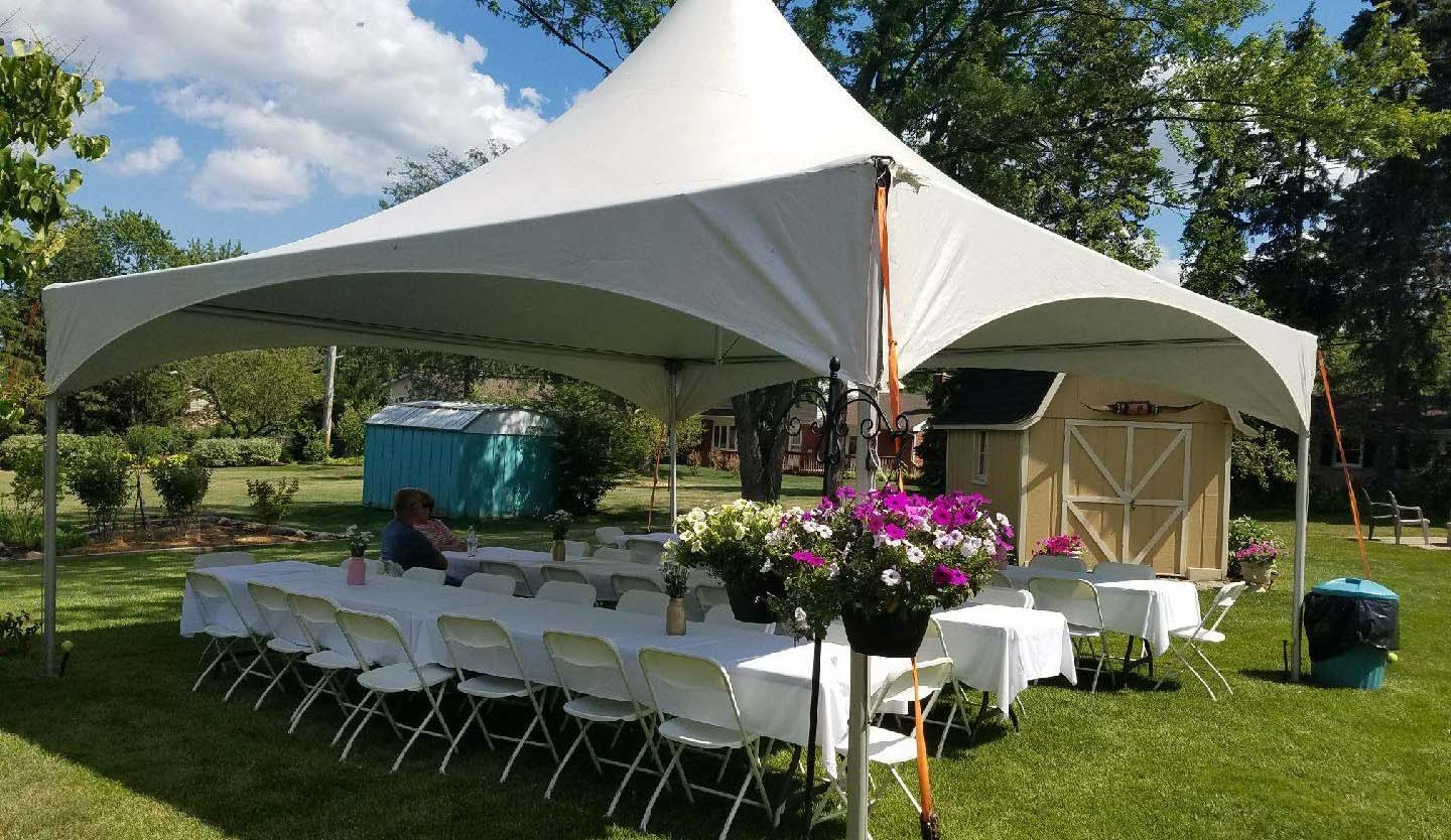 Tent Rental For Parties + Wedding Tent Rental   Affordable Backyard Tents